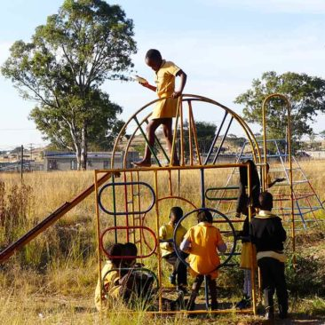 Activities for vulnerable children at Silethithemba Half Way House – Roosboom