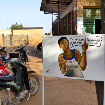 Prevention of early pregnancy in Burkina Faso