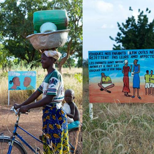 Prevention in rural areas in Burkina Faso