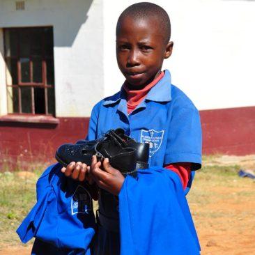 Uniform distribution – St Amadius school – Swaziland – 2017